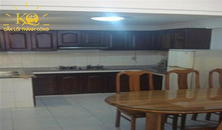 gian bếp của căn nhà